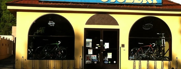 Cesar's Cyclery is one of SF trip June 2012.