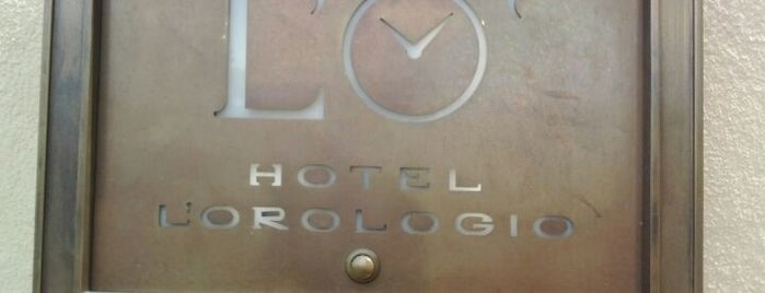 Hotel L'orologio is one of Italy.