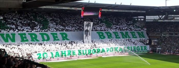 Weserstadion is one of 'Stadium Talk'....