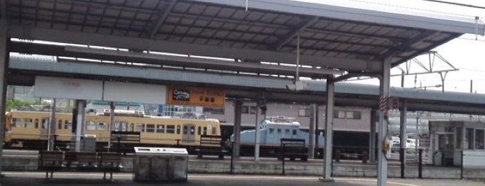 近江鉄道 彦根駅 is one of Locais curtidos por honeorizon.