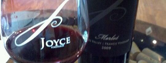 Joyce Vineyards is one of san francisco.