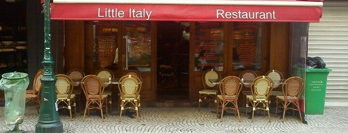 Little Italy Caffé is one of restos.