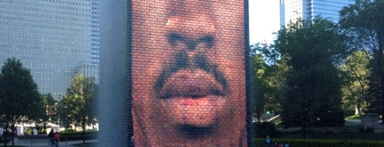 Crown Fountain is one of 101 places to see in Chicago before you die.