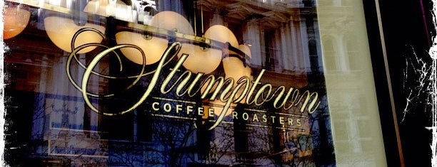 Stumptown Coffee Roasters is one of NYC Beat.