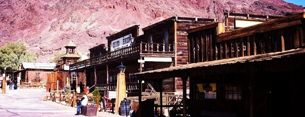 Calico Ghost Town is one of COVID Road Trip.