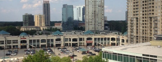 SpringHill Suites by Marriott Atlanta Buckhead is one of Hotels that I stay in.