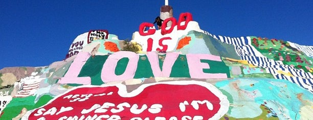 Salvation Mountain is one of ..