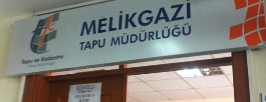 Melikgazi Tapu Müdürlüğü is one of Serdar Gultekinさんのお気に入りスポット.