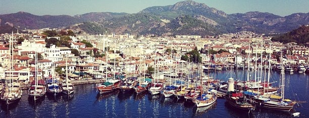 Marmaris Marina is one of muğla 14.