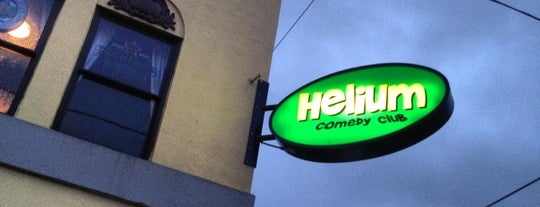 Helium Comedy Club is one of Portland.