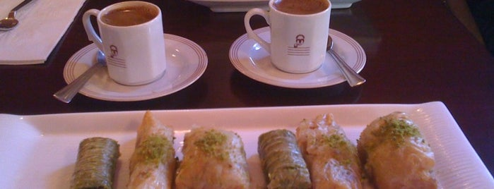 Gulluoglu Baklava is one of eats i want.