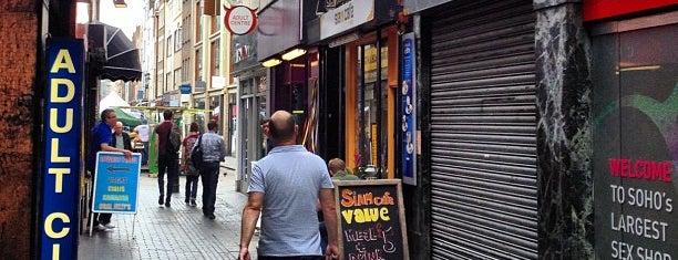 Brewer Street Market Soho is one of Kim's London Favs & Wishlist.