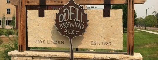 Odell Brewing Company is one of Lieux sauvegardés par Andy.