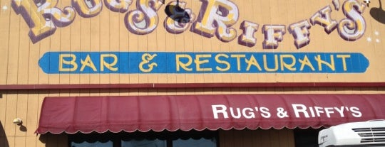 Rug's And Riffy's is one of Kenさんの保存済みスポット.