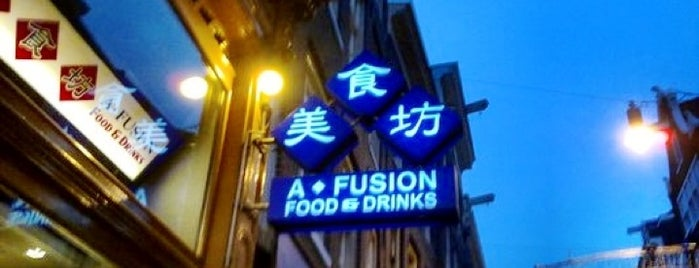 A-Fusion is one of Japanese restaurants.