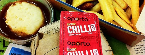 Oporto is one of Halal Food.
