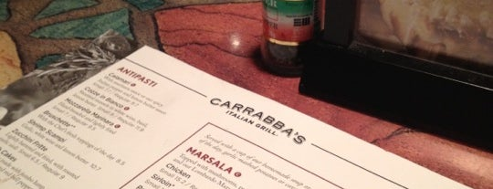 Carrabba's Italian Grill is one of Must Eat Places.