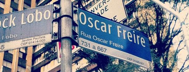 Rua Oscar Freire is one of WW São Paulo Visit.