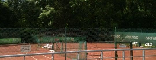 Tennis Club de Thuin is one of Tempat yang Disukai Laetitia.
