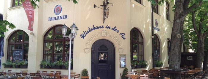 Wirtshaus in der Au is one of Munich - eat & drink.