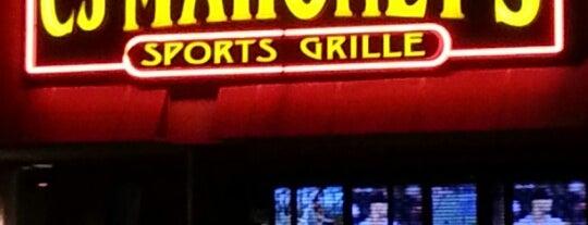 CJ Mahoney's is one of สถานที่ที่ Vince ถูกใจ.