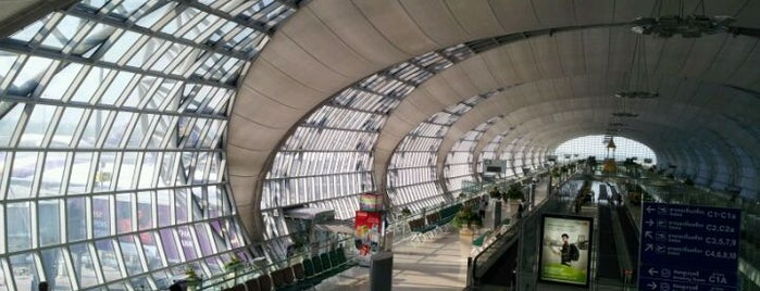 Suvarnabhumi Havalimanı (BKK) is one of Airports - worldwide.