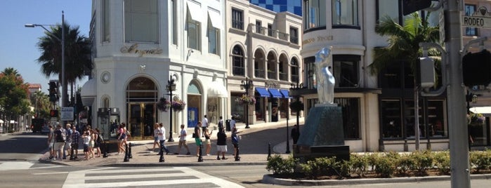 Rodeo Drive is one of Los Angeles.