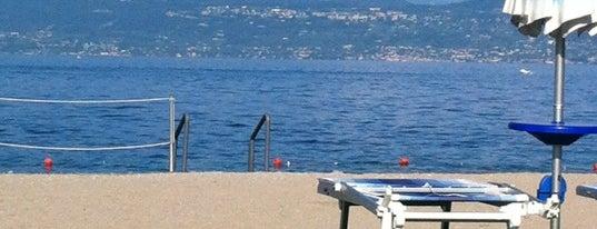 Spiaggia Rimbalzello is one of Posti che sono piaciuti a Stefan.