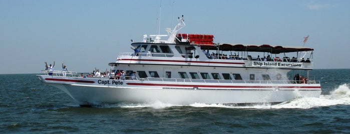 Ship Island Excursions is one of Biloxi.