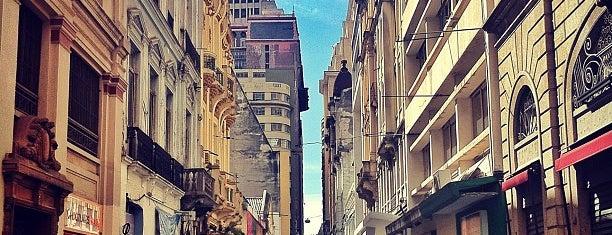 Rua São Bento is one of Gespeicherte Orte von André.