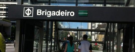 Estação Brigadeiro (Metrô) is one of Preferidos.