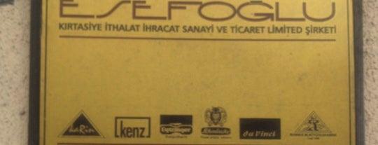 Esefoğlu Ltd. Şti is one of Istanbul.