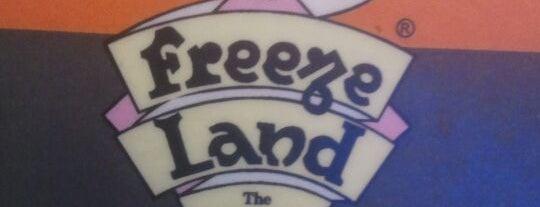 Freezland is one of Tempat yang Disimpan Parth.