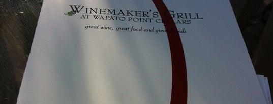 Winemaker's Grill is one of Tempat yang Disimpan Rob.