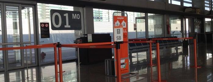 Terminal 2C is one of Sitios con WiFi en Barcelona.