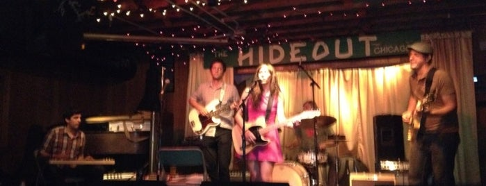 The Hideout is one of Chicago, IL.