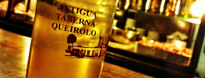 Antigua Taberna Queirolo is one of Peru!.