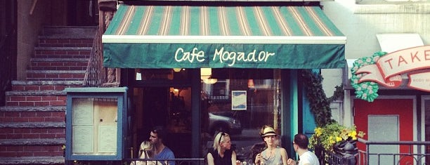 "Cafe Mogador is one of ""Sweep Me Off My Feet"" Spots."