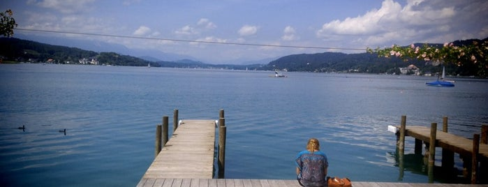Wörthersee is one of Lugares favoritos de Helena.