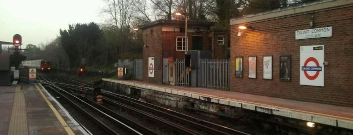 Ealing Common London Underground Station is one of Underground Stations in London.