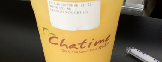Chatime is one of In Foods We Trust.