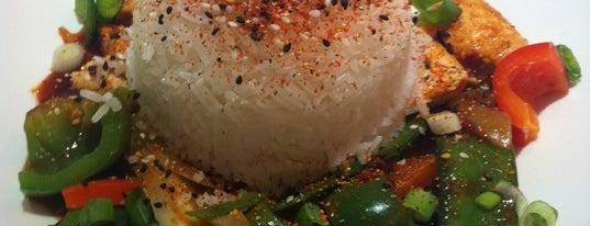 wagamama is one of Restaurantes e outros sitios onde se come ben.