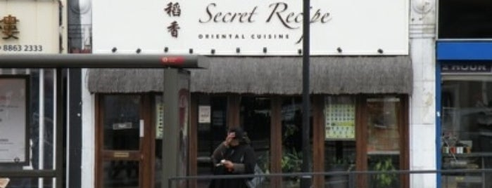 Secret Recipe is one of Malaysian Restaurants in London.