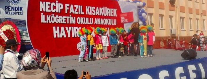 Necip Fazıl Kısakürek İlköğretim Okulu is one of Pendik.