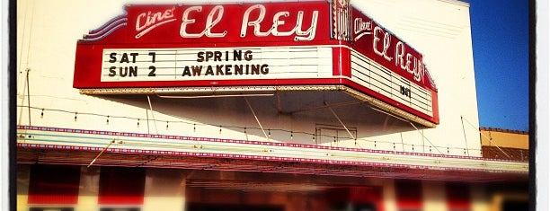 Cine El Rey is one of The New 17th Street Entertainment District.