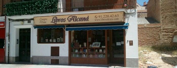 Mis librerías de Madrid
