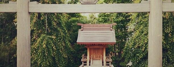 鉄道神社 is one of 氣になる.
