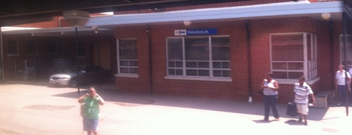 Petersburg Amtrak Station (PTB) is one of Transportation Services & Facilites.