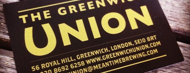 The Greenwich Union is one of London to-do.
