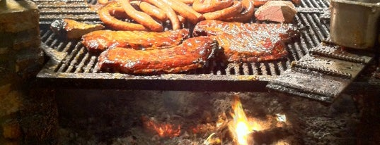 The Salt Lick is one of Austin, Texas.